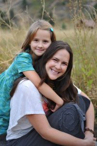 Nicole Herbert AD and her daughter. Welcome Nicole to our team of Ayurvedic Practitioners in Boulder CO