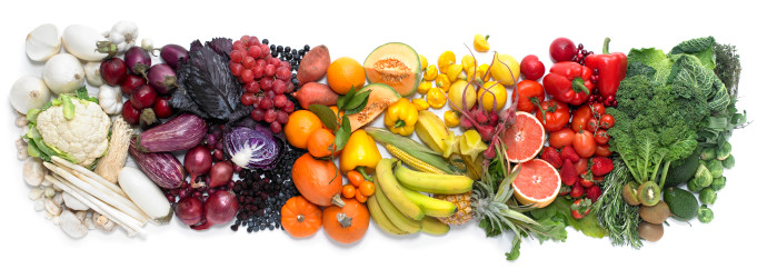 micronutrients and a rainbow of foods