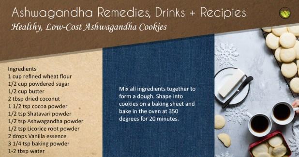 Healthy Ashwagandha Cookies